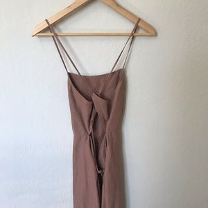 Strappy, minimal dress x Wilfred at Aritzia